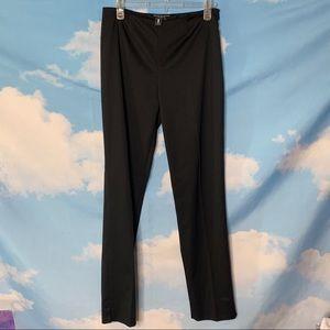 Peace of Cloth- Black Pants w/ side zipper size 2